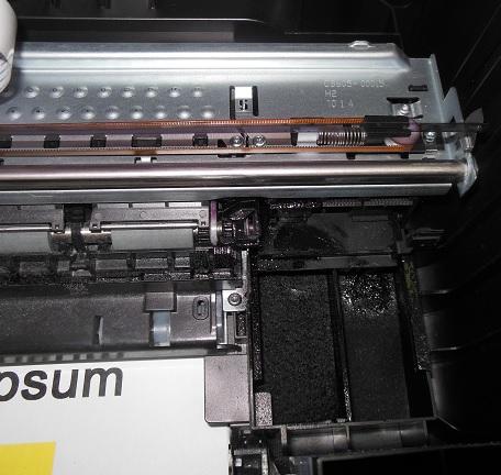 треск при печати HP DJ F2483