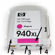 Заправка картриджей HP 940 XL