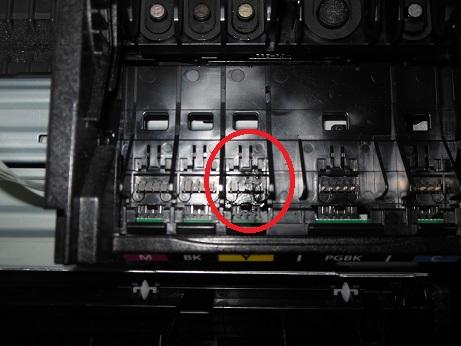 принтер Canon не видит картридж