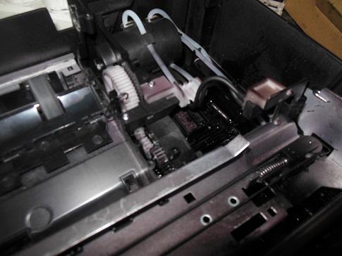 разборка принтера HP Deskjet 5525