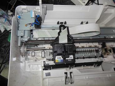 сброс адсорбера Canon MG2440 ошибка 5B00