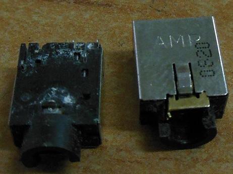 ремонт звуковых разъемов ноутбуков Dell 1535