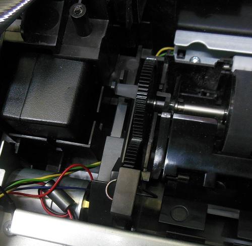 ремонт подачи бумаги HP Photosmart 5515