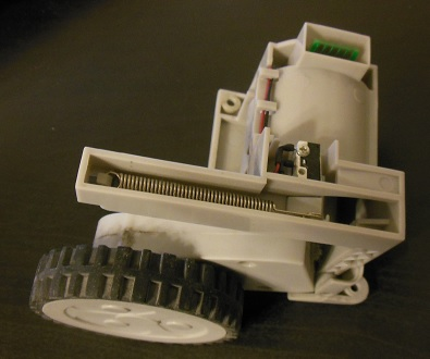 ремонт колеса робота пылесоса