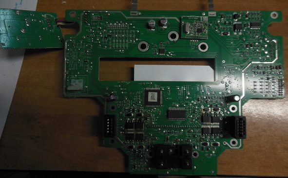 ремонт основной платы Xrobot XR210