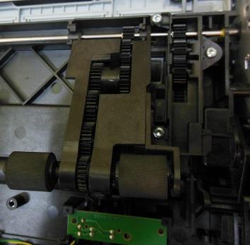 Ремонт захвата бумаги струйных принтеров HP