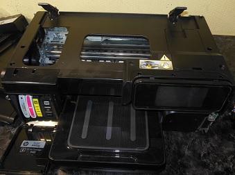 снятие сканера HP 8500a