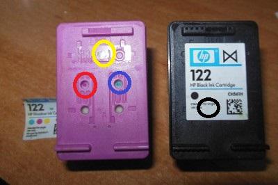 Заправка картриджей HP 122