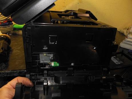 начало разборки HP Officejet 8500