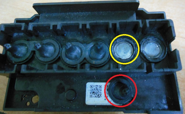 устройство печатающей головки Epson