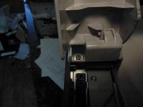 винт крепления верхней крышки hp color LJ 3600n