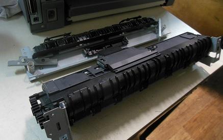 Разборка печки HP LJ 5200 dtn