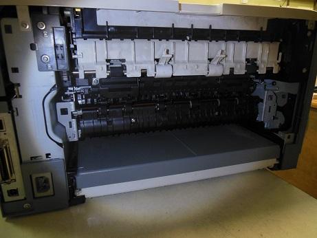 как вынуть узел закрепления HP LJ 5200 dtn