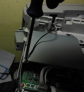 разборка DCP-7030 снятие защиты