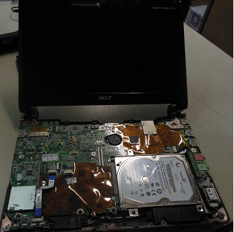 ремонт нетбука Acer One 53h