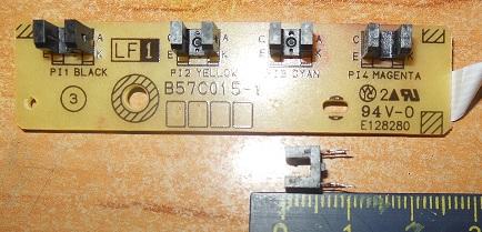 плата Brother DCP-J525W B57C015-1 с оптическими датчиками
