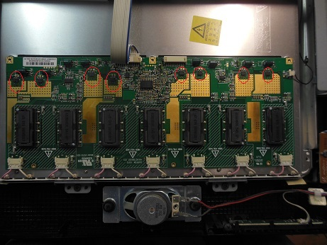 ремонт инвертора телевизора Samsung