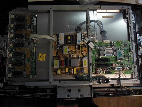 ремонт телевизора Samsung LE27S71B не включался