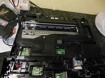 снятие сканера Brother dcp-j525w