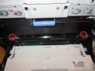 Замена ленты переноса HP LJ Pro 300