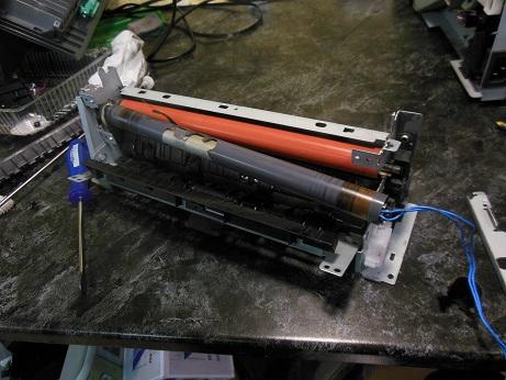 замена термопленки HP LJ P2055