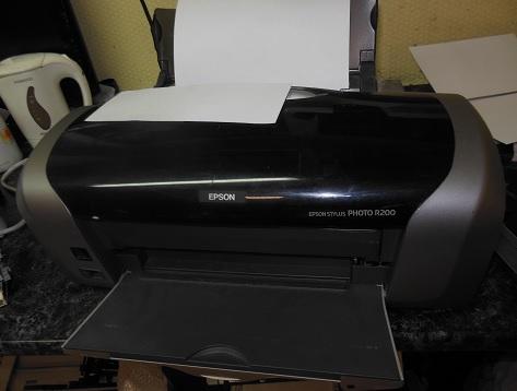 ремонт принтера Epson R200