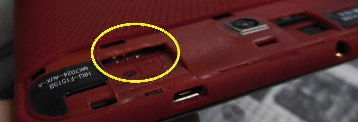 ремонт разъема SIM карты