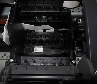 снимаем головку принтера Epson R200