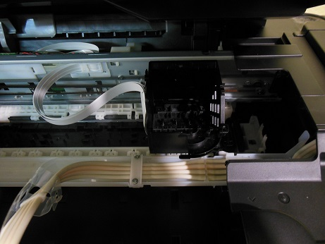 снимаем головку Epson L210