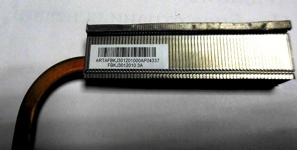 трубка с радиатором Asus K52F