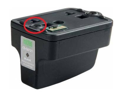 Заправка черного картриджа HP 177