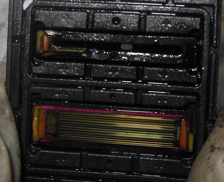 Устройство каналов печатающей головки HP