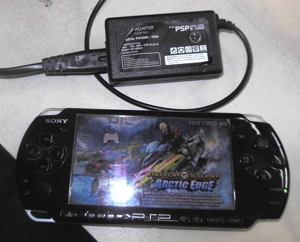 причина поломки PSP 3000