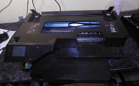 снимаем сканер Officejet 7610