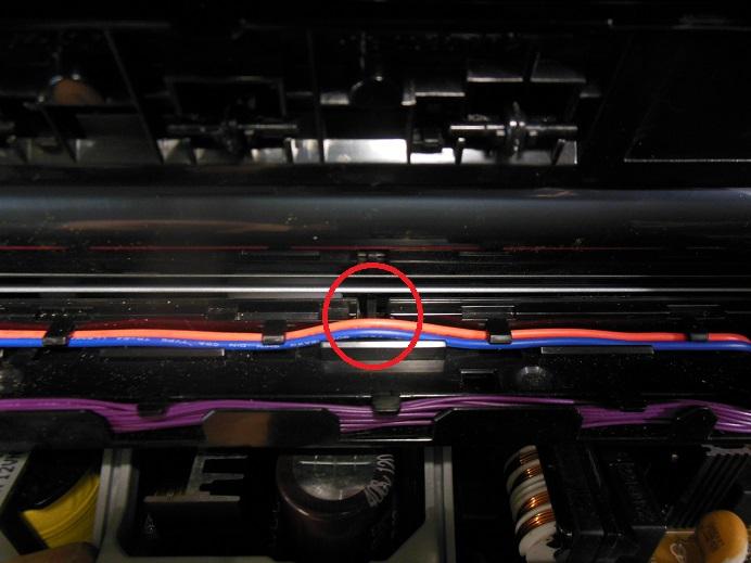 CP1025 флажок нижнего датчика бумаги