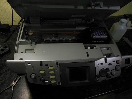 Как чистить головку принтера canon