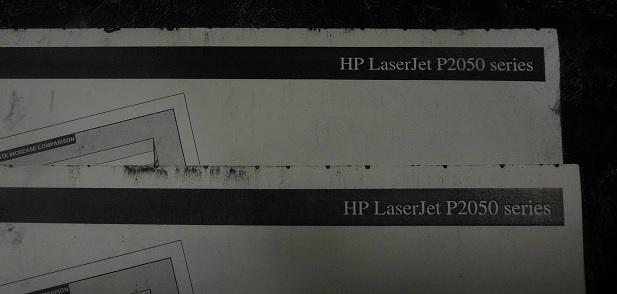 после замены магнитного вала картриджа HP 505X