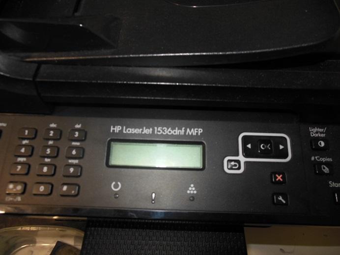 ремонт МФУ HP LJ 1536dnf