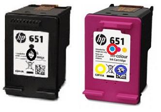 Заправка картриджей HP 651 вариант 2