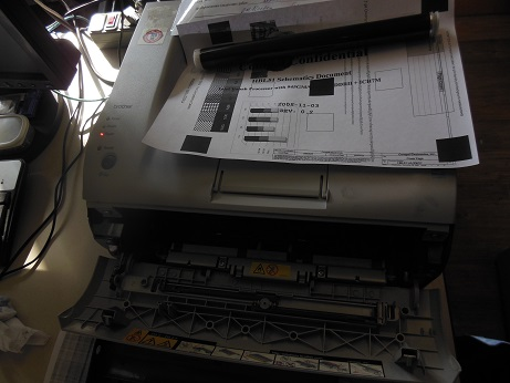 Brother HL-2030r не печатает