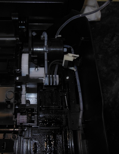 ремонт насоса HP DJ 4615b 3525