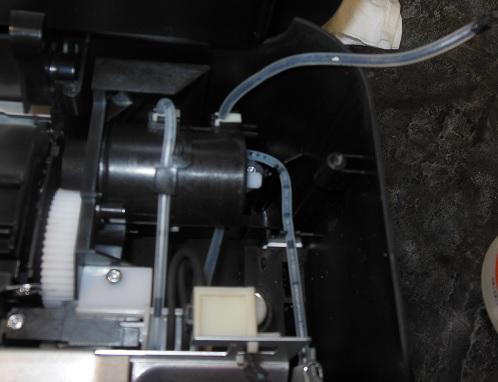 ремонт насоса HP DeskJet 3070A