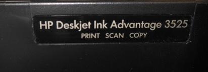 ремонт HP DJ 3525 нет черного цвета