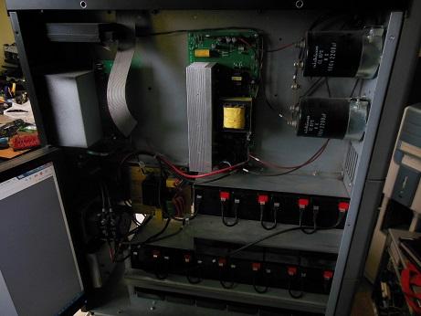 ремонт питания UPS AEG