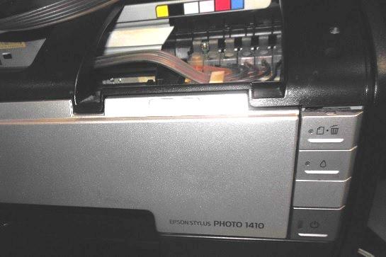 ремонт принтера Epson 1410