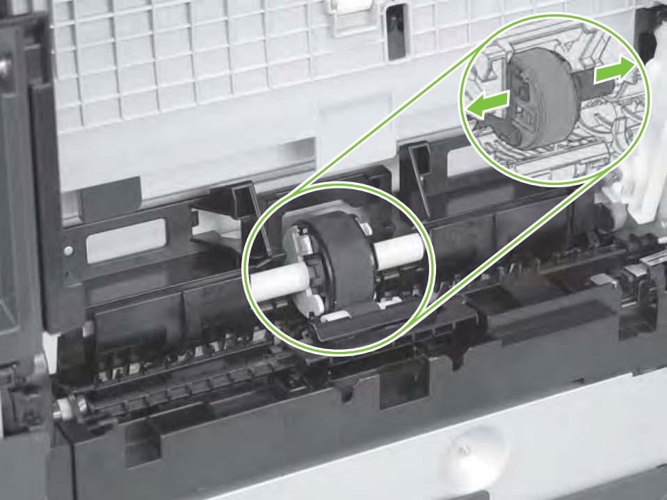 инструкция по ремонту захвата бумаги HP CM1312