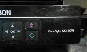 Ремонт принтера Epson SX430W
