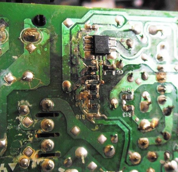 Ремонт БП Epson SX430W, L210