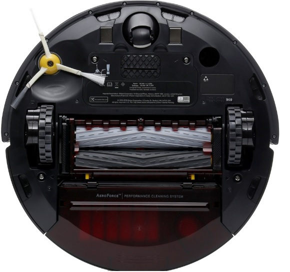 Roomba 960 снизу