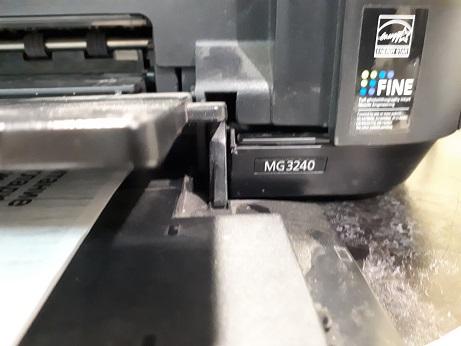 MG3240 не подает бумагу